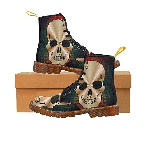 Leinterest Skull Martin Boots Fashion Shoes Voor Dames