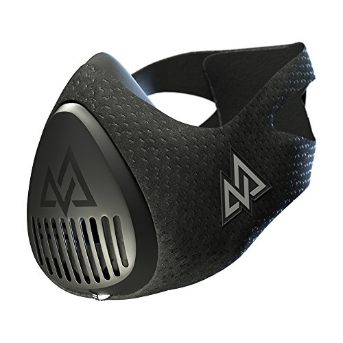 Training Mask 3.0 [all Black] Fitness Training Mask, Workout Mask, Running Mask, Breathing Mask, Res Icon