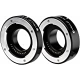 Vello Deluxe Auto Focus Extension Tube Set for Micro Four Thirds Mount(2 Pack)