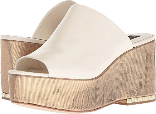 Donna Karan Women's Sade Off-White Nappa Leather 5.5 M US