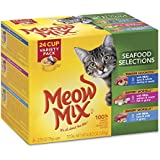 Meow Mix Seafood Selections Variety Pack Wet Cat Food, 2.75-Ounce (Pack Of 24) - 799600