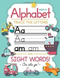#8: Trace Letters Of The Alphabet and Sight Words (On The Go): Preschool Practice Handwriting Workbook: