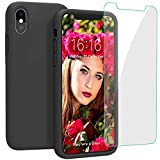 Best Case With FREE Screens - JASBON Liquid Silicone Compatible case for iPhone Xs Review
