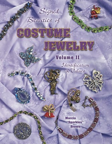 Signed Beauties of Costume Jewelry by Marcia Brown (September 22,2003)