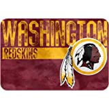 "NFL ""Worn Out"" Bath Mat, 20"" x 30"" - Most NFL Teams Available (Washington Redskins)"