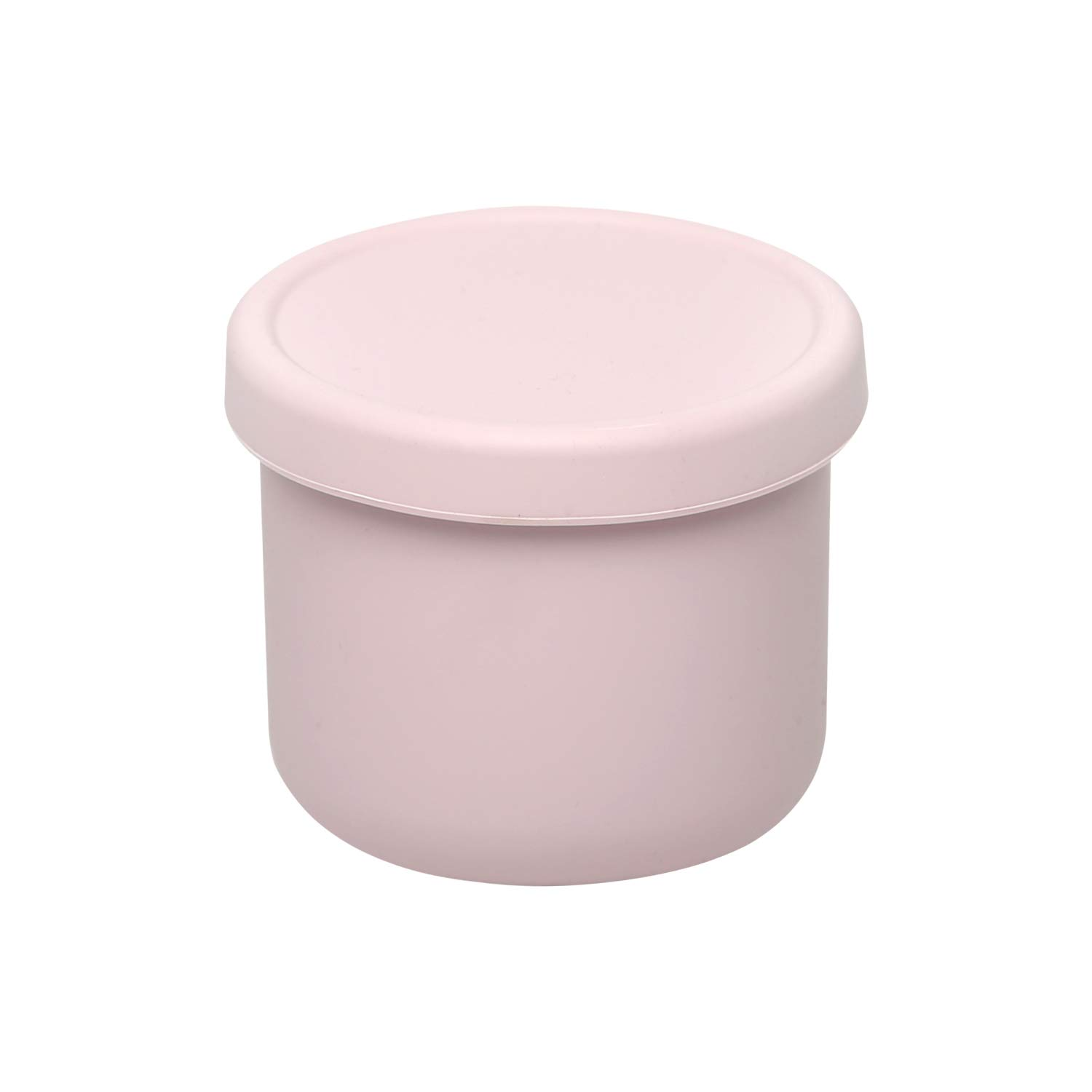 Silicone Baby Food Storage Freezer Containers with Lids |BPA-Free Airtight Leak-Proof Baby Food Jars | Dishwasher, Microwave, Refrigerator Safe,8.45OZ,Pink