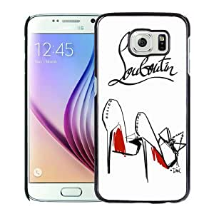 Fashionable And Unique Designed Case For Samsung Galaxy S6 Phone Case With Christian Louboutin 9 Black
