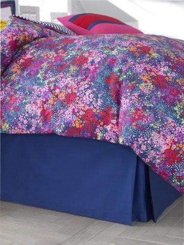 Floral Twin Bedskirt (Teen Vogue Sweet Floral Twin Bedskirt)