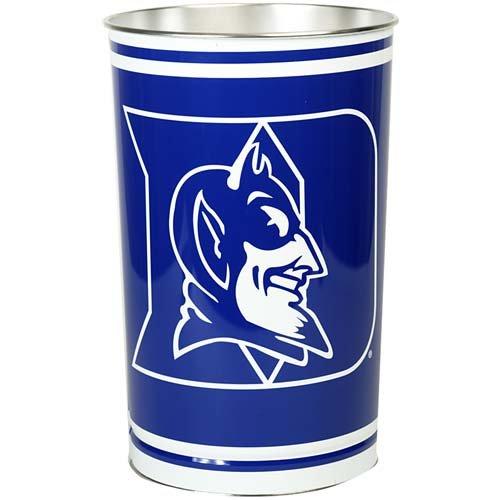 WinCraft NCAA 9796721 Duke University Tapered Wastebasket, 15'' H