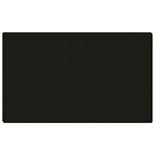 "Ghent 24""x36"" Fabric Bulletin Board w/ Wrapped Edge - Bla..."