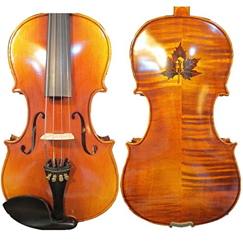 Guarneri style SONG Brand inlay maple leaf Master 15 1/2'' viola #9610 by Song