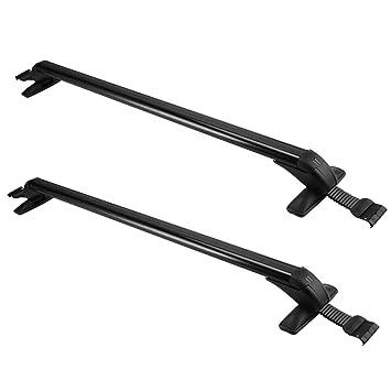Auto Parts & Accessories Universal 110CM Roof Rack Crossbars Pickup Truck Sedan Window Door Frame Clamp Car & Truck Racks