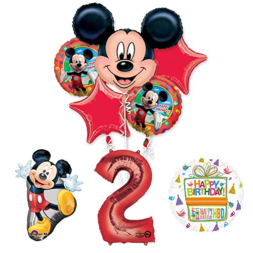 The Ultimate Mickey Mouse 2nd Birthday Party Supplies and Balloon -