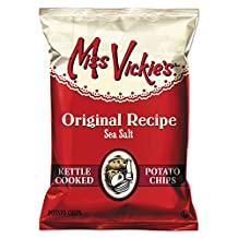 Miss Vickie's® Kettle Cooked Sea Salt Potato Chips, 1.375 Oz Bag, 64/Carton by Miss Vickie's