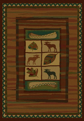 (United Weavers Area Rugs: Genesis: Highland Falls Lodge Rug: 130-23243 : 3'11