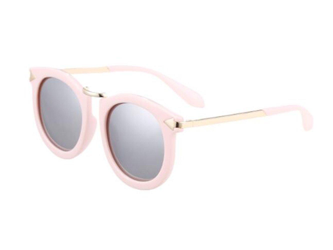 SHULING Sonnenbrille Das Neue Kind Sonnenbrille Persönlichkeit Kreis Sonnenbrillen Fashion Girls Membran Auch Gläser