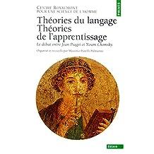 Théories du langage, théories de l'apprentissage: Débat au Centre Royaumont