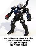 Review: Marvel Legends War Machine (Civil War Movie Version) 6
