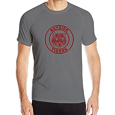 BENZ47' Men's Sportwear Bayside Tigers Quick Dry Shirt DeepHeather