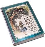 [アートデコ7321] ART DECO 7321 不思議の国のアリス スケジュール張V1.5進化版 布張り チシャ猫とアリス