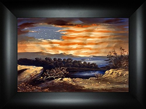 Heavenly Blessing By Todd Thunstedt 18x24 Patriotic US