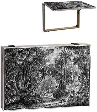 TIENDA EURASIA/® Tapa Contador de luz dise/ño Original Cubre Contador Selva Tropical 46X32X7CM