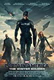 Captain America The Winter Soldier movie poster 11 inch x 17 inch LITHOGRAPH