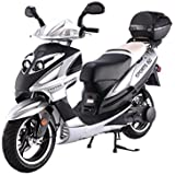 BIG SIZE Sporty 150cc Street Legal Scooter with 13 inch Tires and matching TRUNK