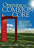 Sage Publications Opening The Common Core Book