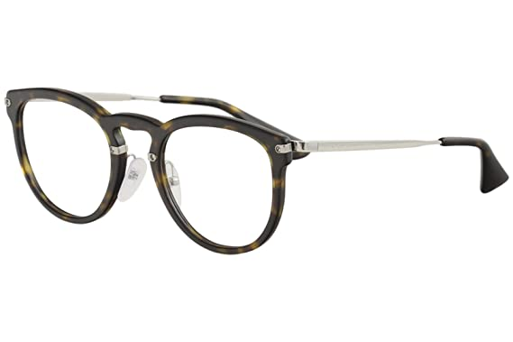 421071596d73 Prada Eyeglasses VPR02V VPR/02/V 2AU/1O1 Havana Full Rim Optical ...