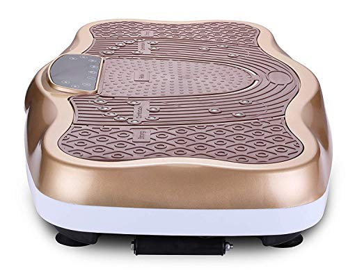 TODO Vibration Platform Power Plate Wholebody Vibrating Massager- Remote Control/Bluetooth Music/USB Connection/Adjustable Speed(Gold-Wave) by TODO (Image #5)