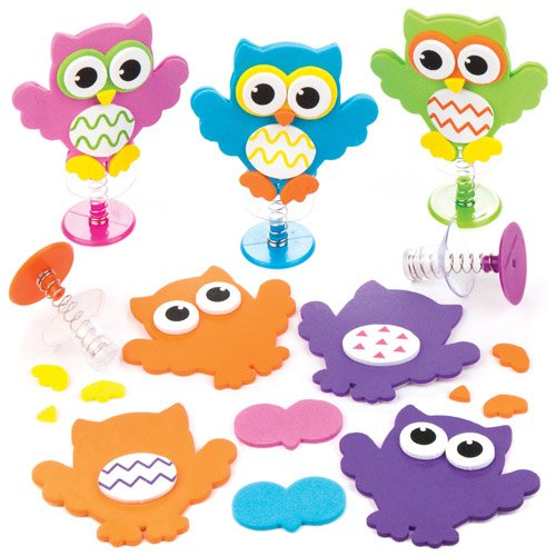 Owl Jump-up Kits For Kids Perfect For Children's Arts, Crafts And Decorating For Boys And Girls (Pack of (Cheap Classroom Decorating Ideas)