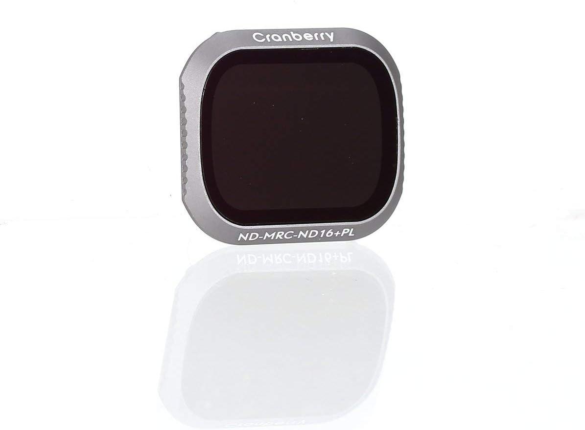Cranberry Adjastable Mini Portable ND8//16//32//64+PL HD Light Reducer Polarizer Lens Filter for DJI Mavic 2 Pro Drone Camera