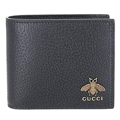 a34074b32024 Amazon | GUCCI(グッチ) 財布 メンズ 二つ折り 蜂 アニマリエ 小銭入れ ...