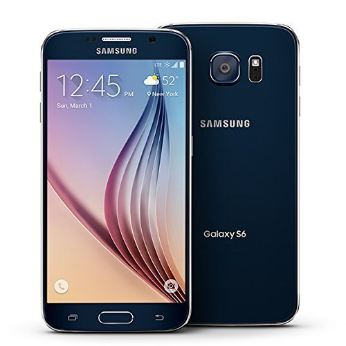 Samsung Galaxy S6, G920P Black Sapphire 128GB - Sprint (Certified Refurbished)