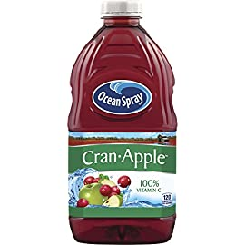 Ocean Spray Cranberry Cocktail Juice 6 (1) 8-Pack of 64 Ounce bottles (512 ounces) No artificial flavors, sweeteners, or preservatives No high fructose corn syrup