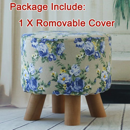 quilted foot stools - 2
