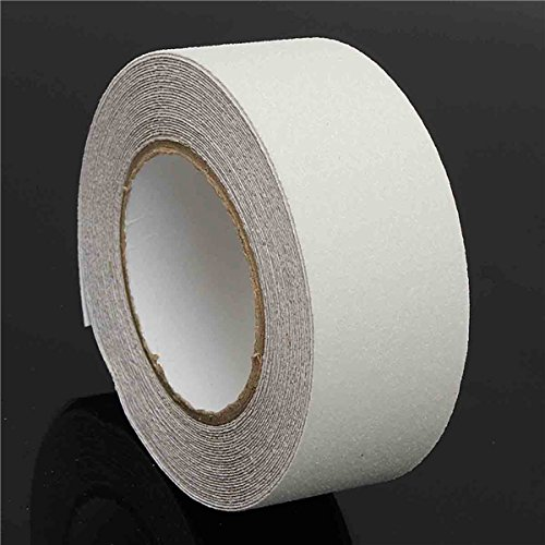 QOJA 50mm x 10m pvc white waterproof tape anti-slip adhesive tape