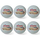 Mikasa Official 8.5'' Rubber Dodgeball Set of Six