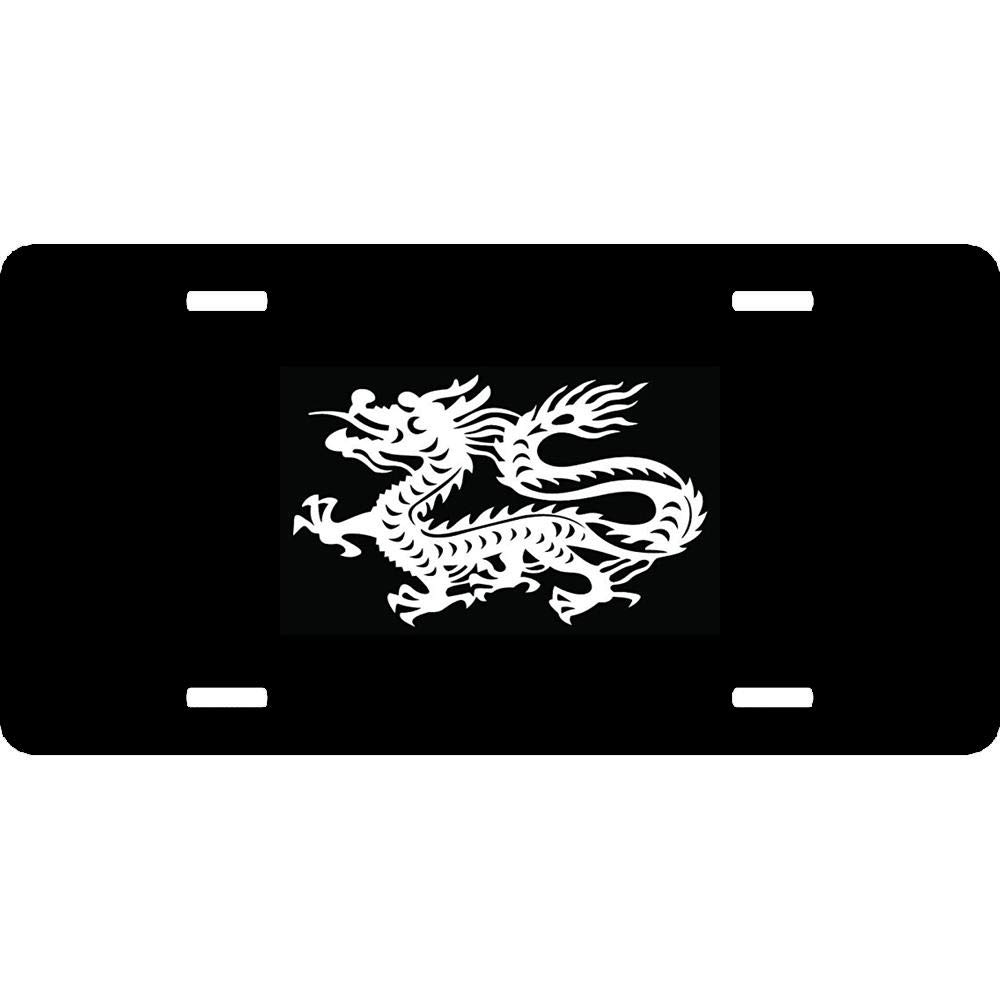 4 Holes License Tag Sign for US Vehicles 6 X 12 URCustomPro Novelty License Plates for Front of Car