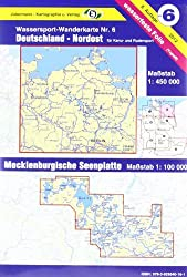 Jübermann Wassersport-Wanderkarten, Bl.6, Deutschland Nordost