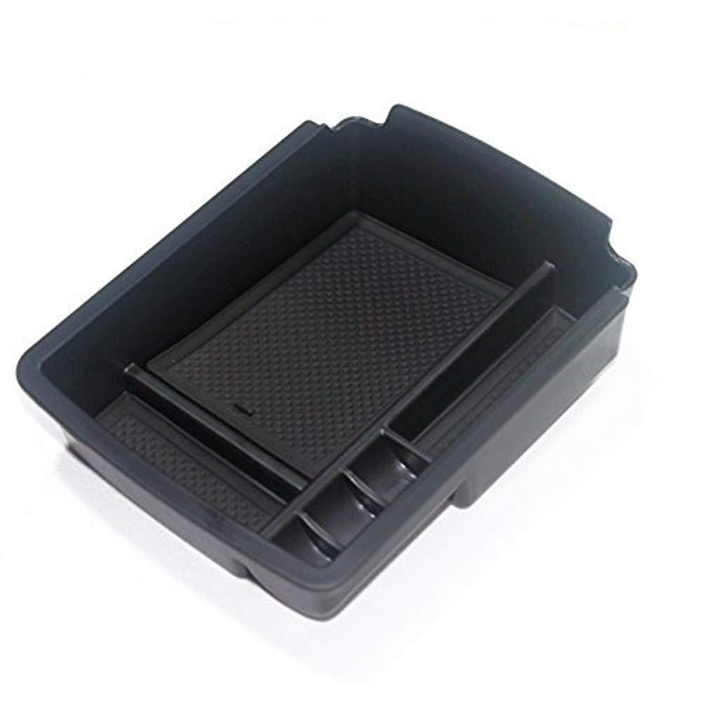 Yueng Caja del Organizador de la Caja de Almacenamiento del apoyabrazos del Coche plá stico 1 Paquete del envase