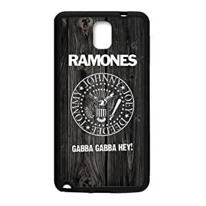 Zyhome Galaxy Note 3 Vintage Punk Rock Ramones Wood Pattern Case Cover for Samsung Galaxy Note 3 (Laser Technology)