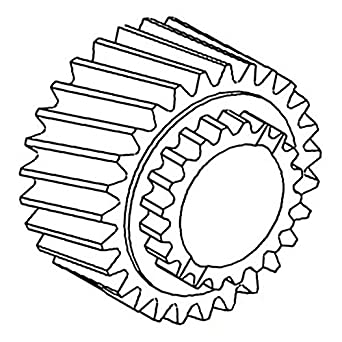 amazon t30065 new aftermarket gear made to fit john deere John Deere 2030 Hydraulic Diagram t30065 new aftermarket gear made to fit john deere tractor 1020 1520 1530 2020 2030 2040