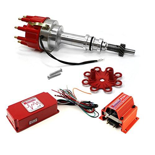 - fits Ford 289 302 Windsor Pro Billet Distributor 6AL CDI Ignition & Coil Kit