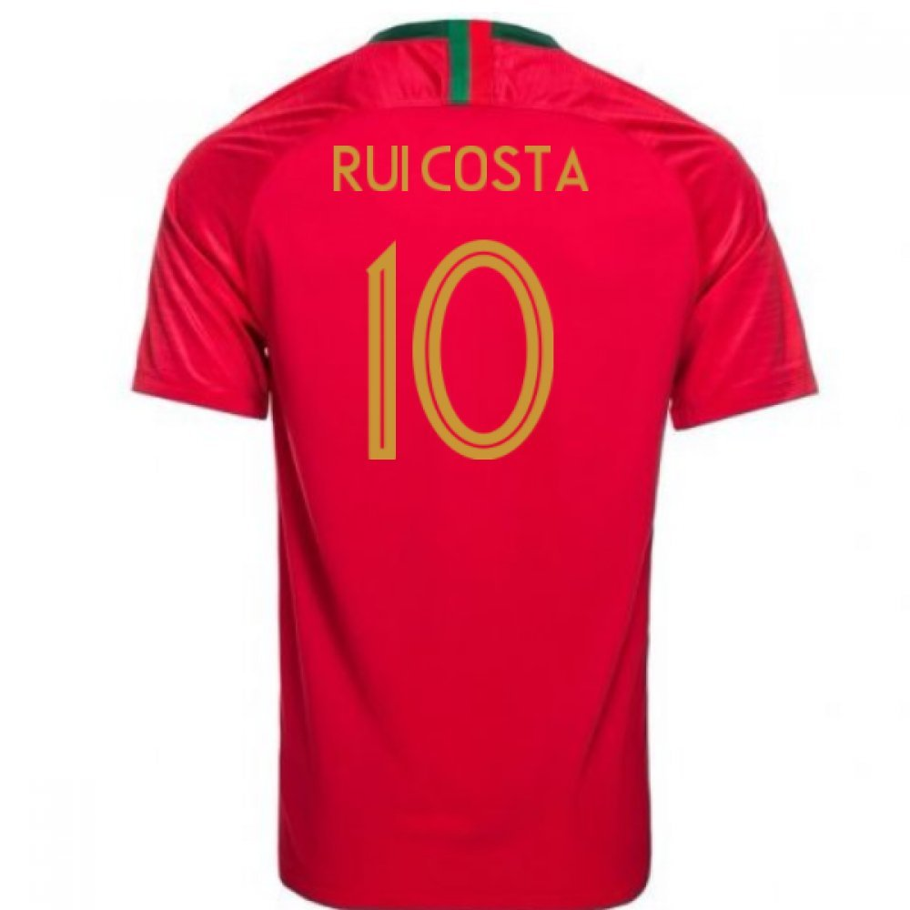 【新作入荷!!】 2018-2019 Portugal Home Nike Football Shirt (96-104cm)|Red (Rui Costa 2018-2019 10) Chest B07DK41TRP Medium 38-40