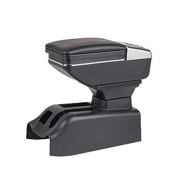 MyGone para Bora Golf 4 Auto Consola Central Apoyabrazos Reposabrazos Accesorios,Gran Espacio de Almacenamiento,Proporcione el Lugar del Resto de Brazo,con ...