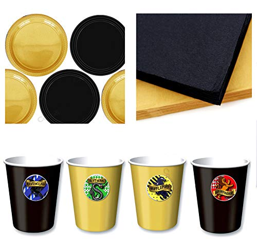 Coco&Bo - Hogwarts Houses - Paquete de fiesta de mesa de ...