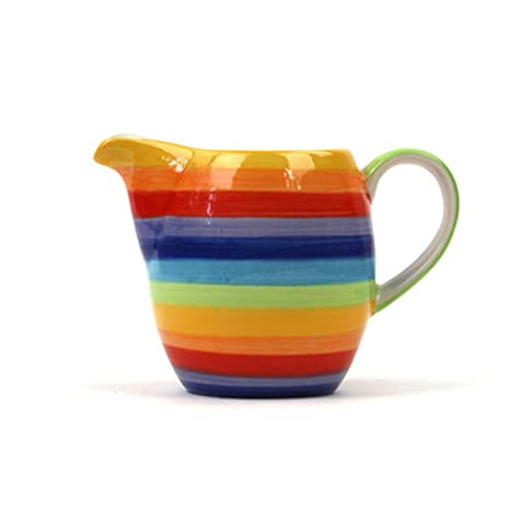 Amazon.com: Rainbow Jarra de leche, jarra de leche ...