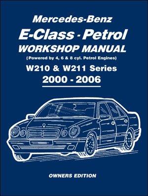 mercedes w210 e w211 classe e benzina 2000 2006 manuale officina rh amazon it service manual mercedes w211 user manual mercedes w211